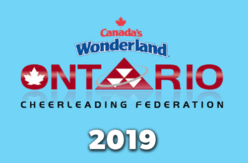 Canada's Wonderland Cheerleading Competition