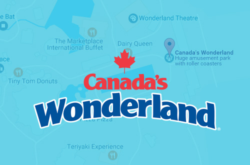 Canada's Wonderland Directions