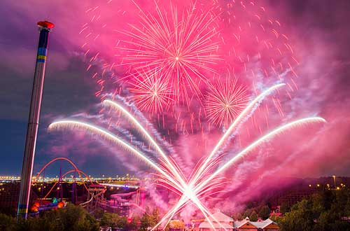 Canada's Wonderland Hosts Fireworks and Birthday Bash on Victoria Day Long Weekend