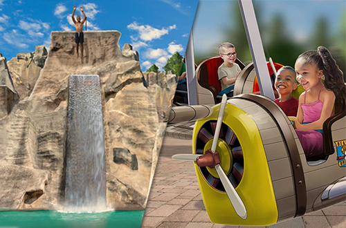 Canada's Wonderland announces exhilarating cliff jumping water park attraction and kids' airplane ride for 2020