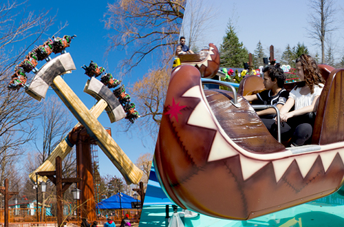 Canada's Wonderland Opens with Two New Attractions and Exciting Entertainment Lineup