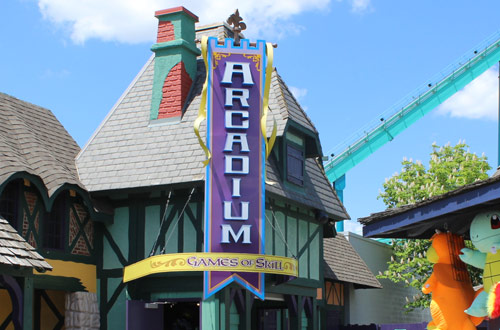 Aracadium Arcades at Canada's Wonderland