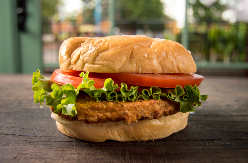 Crispy Chicken Sandwiches at Canada's Wonderland