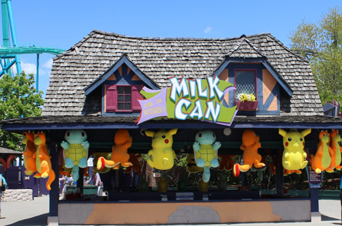 Milk Can Games at Canada's Wonderland