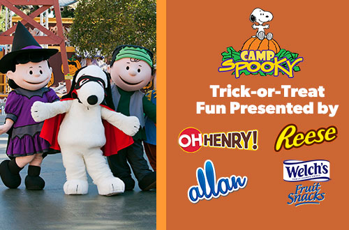 Trick-or-Treat Adventure at Camp Spooky Halloween Event