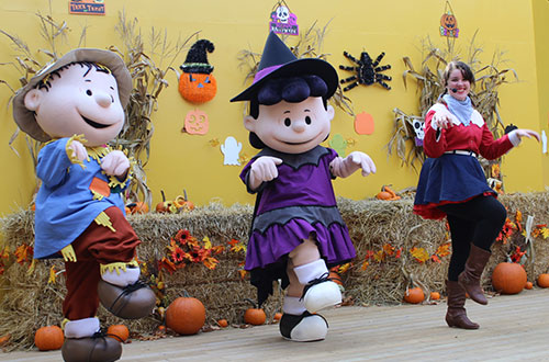 Charlie Brown's Trick-or-Treat Show at Camp Spooky