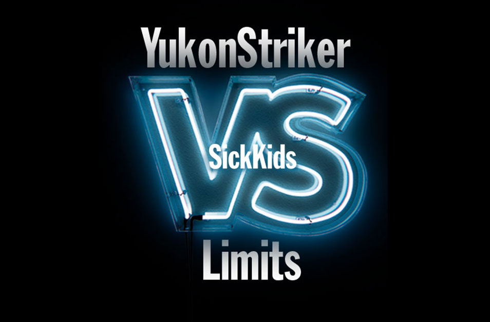 SickKids Partnership at the Yukon Striker First Ride Fundraiser