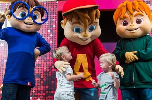 ALVINNN!!! and The Chipmunks at Canada's Wonderland's Kids Festival