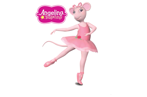 Angelina Ballerina at Canada's Wonderland's Kids Festival