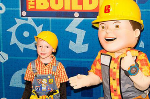 Bob the Builder at Canada's Wonderland's Kids Festival