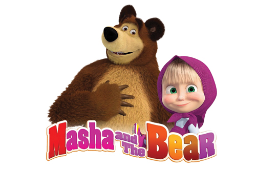 Masha and the Bear at Canada's Wonderland's Kids Festival