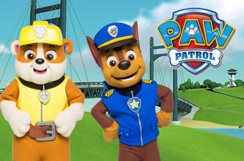 PAW Patrol at Canada's Wonderland's Kids Festival