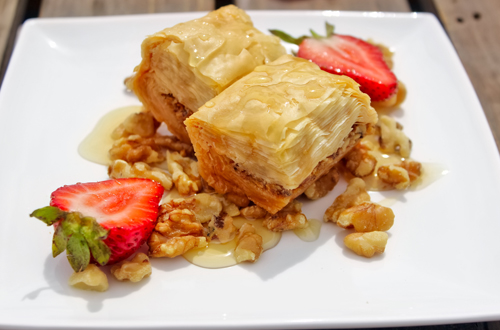 Baklava - Taste of Greece at Canada's Wonderland