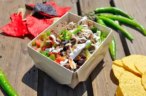 Burrito Bowl with Steak Strips