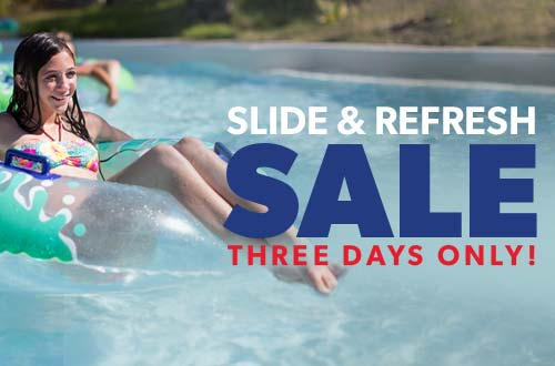 Slide & Refresh Sale