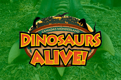 Dinosaurs Alive Tickets