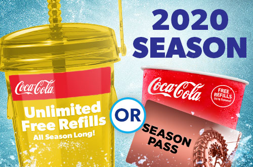 All Season Drink Refill at Canada's Wonderland
