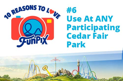 Use at ANY Participating Cedar Fair Park