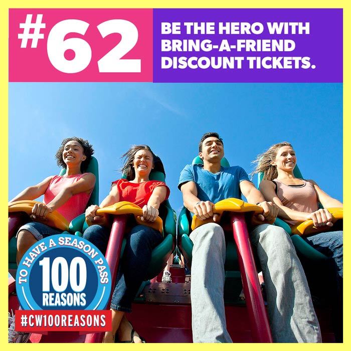 Be the Hero with Bring-A-Friend Discount Tickets.