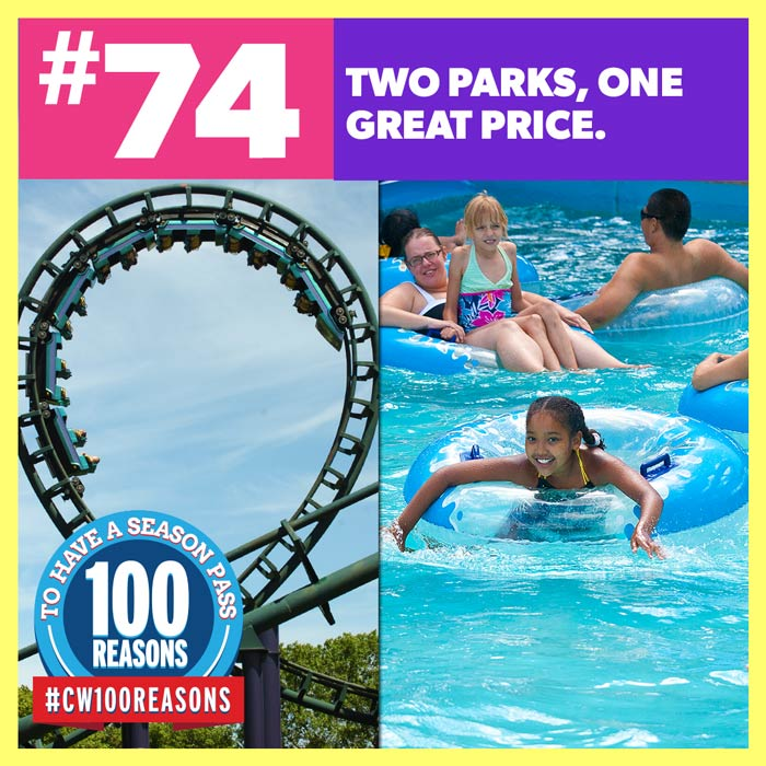 Two Parks, One Great Price.