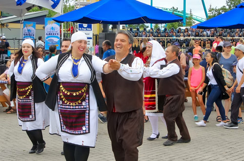 Greek Food Festival at Canada's Wonderland