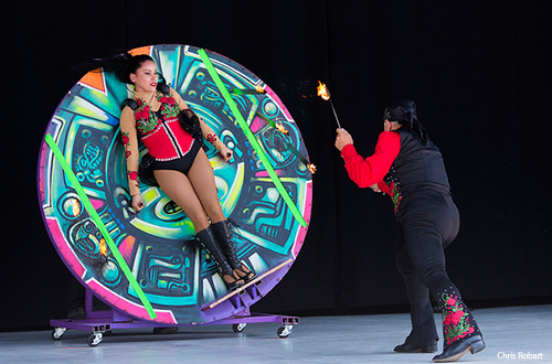 Ultimate Thrills Circus Contortionist