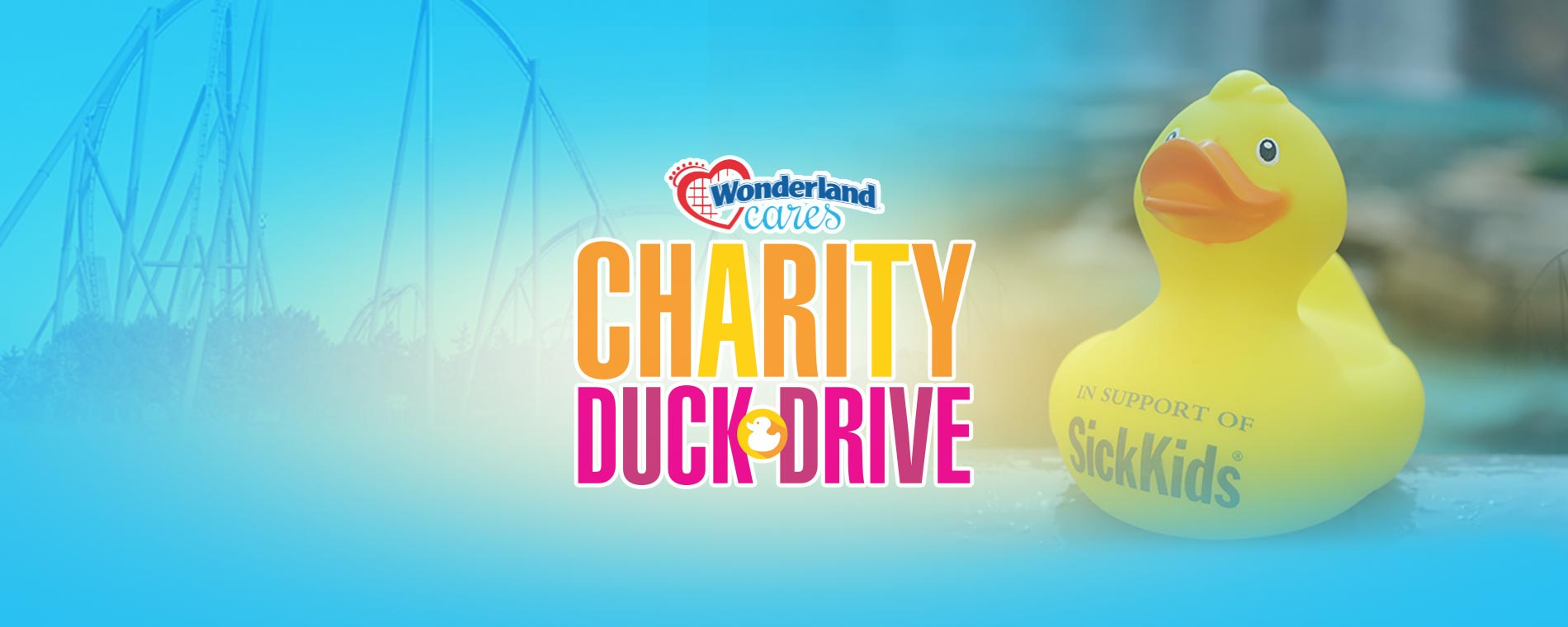 Charity Duck Drive at Canada's Wonderland
