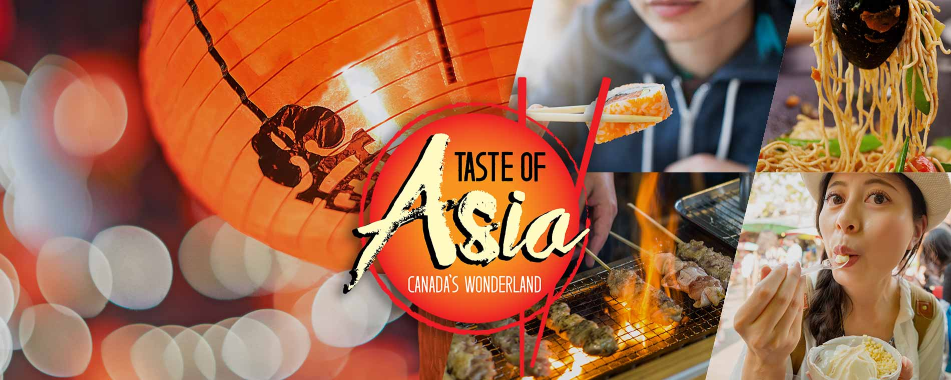 Asian Food Festival at Canada's Wonderland