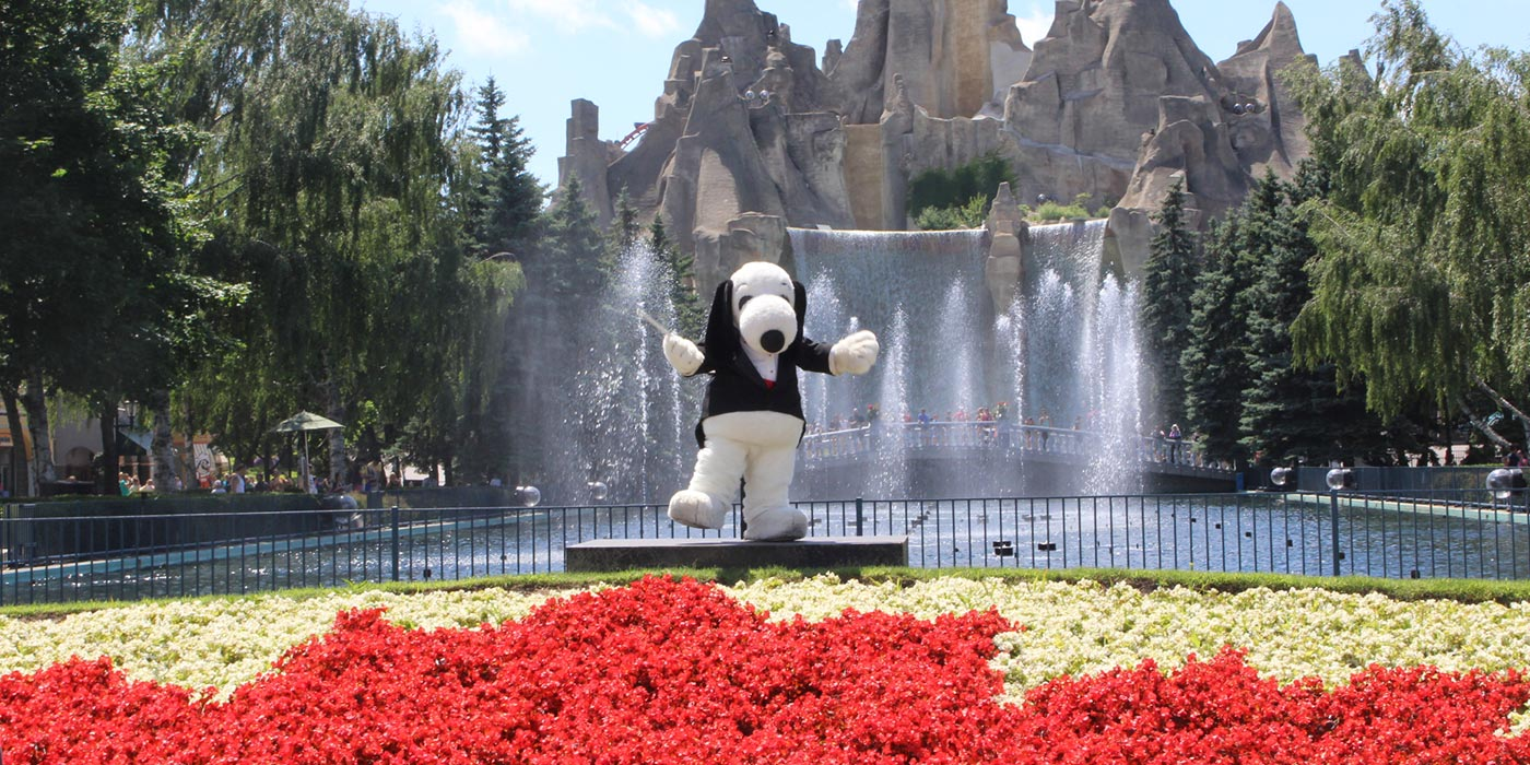 Snoopy's Symphony of Water
