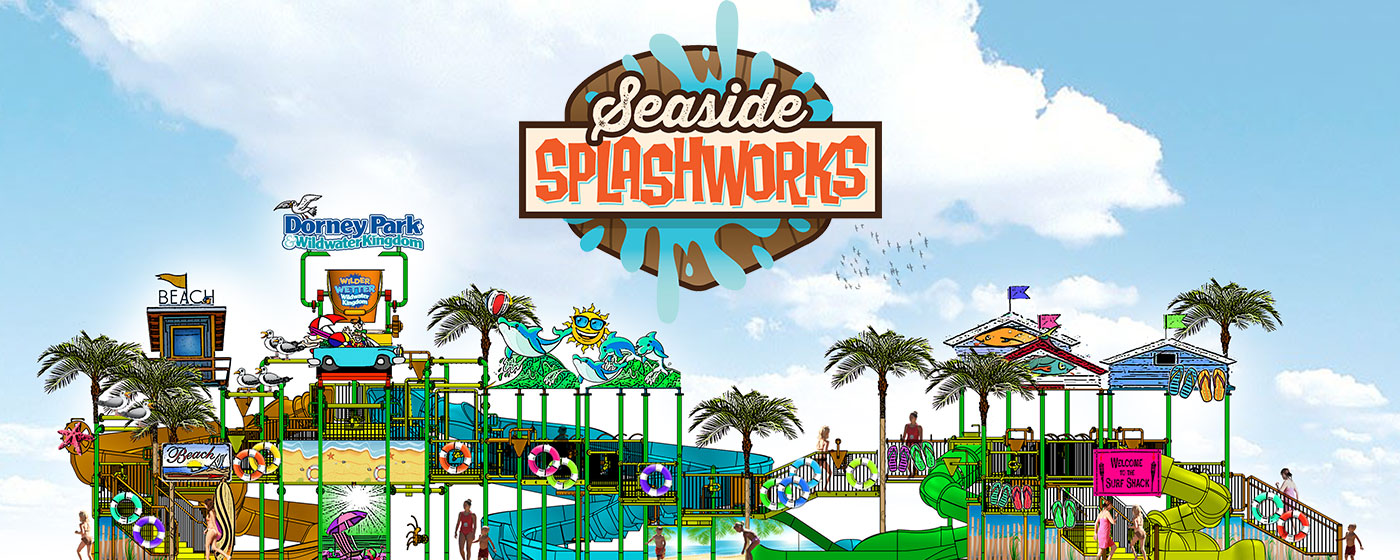 NEW MULTI-LEVEL INTERACTIVE WATER PARK ATTRACTION COMING IN