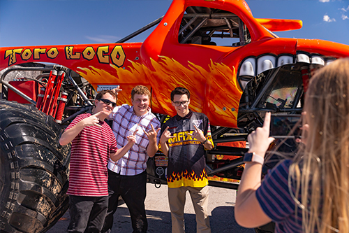 Dorney Park Revs Up the Fun with New Monster Jam® Experience
