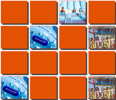 Free Dorney Park & Wildwater Kingdom Memory Game