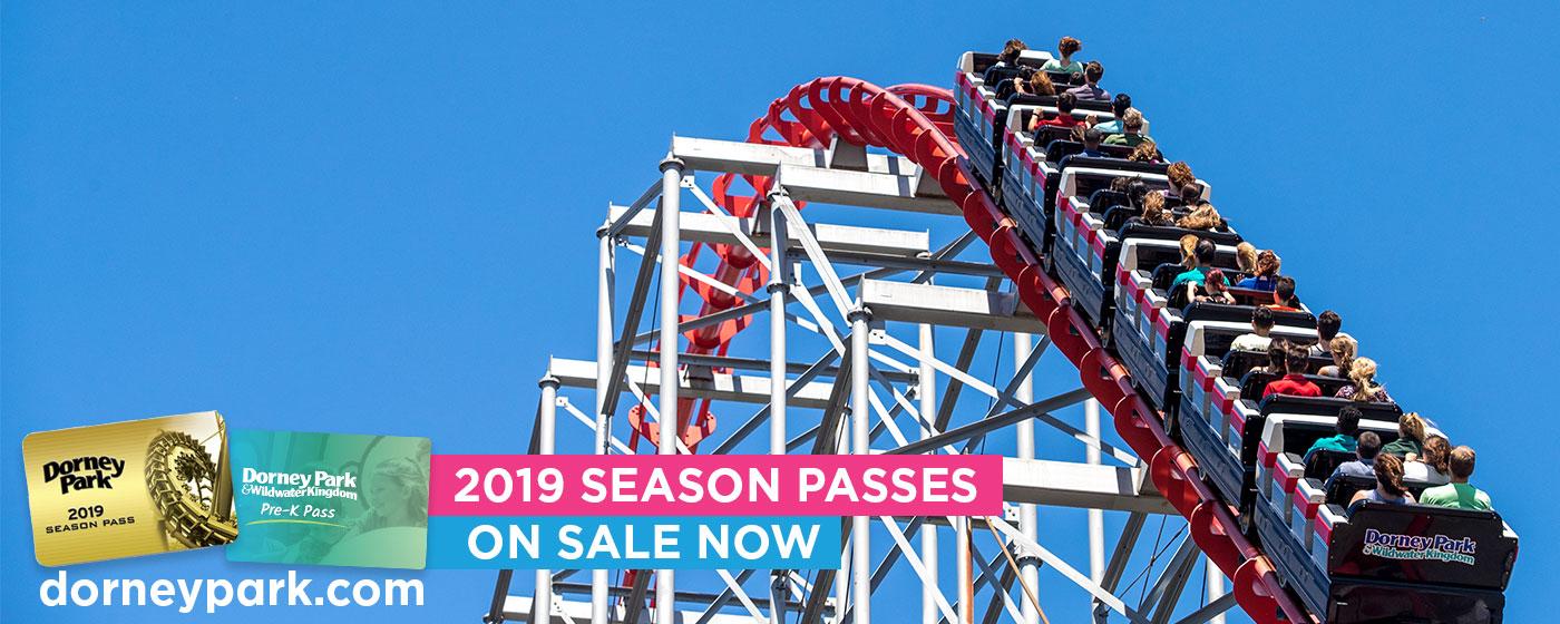2019 Season Passes - Dorney Park