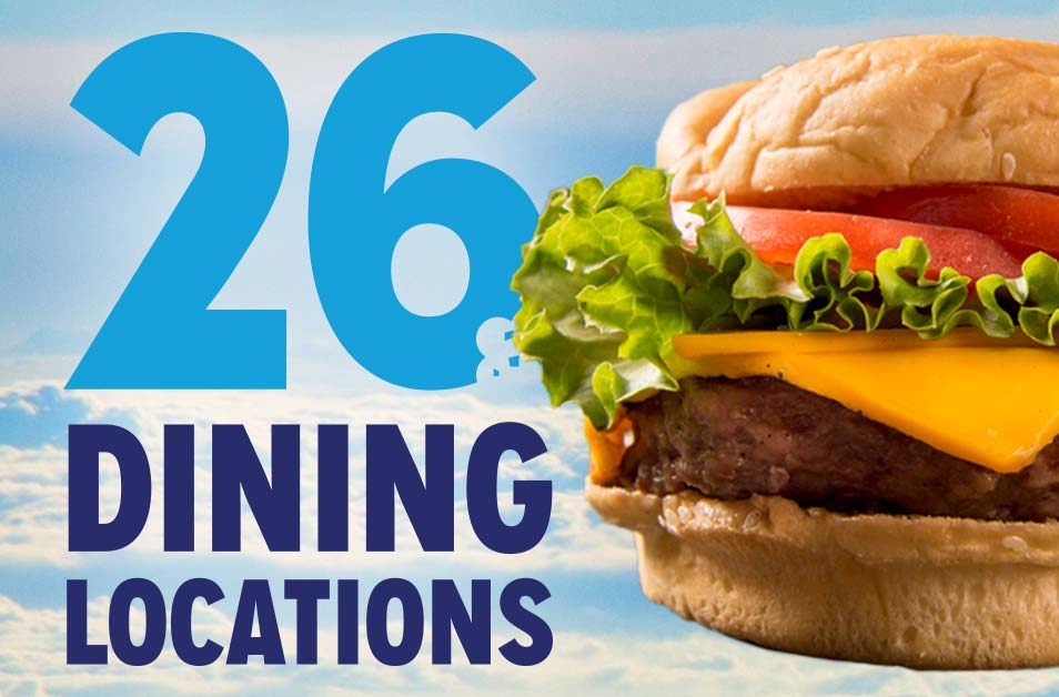 Dining Locations at Dorney Park