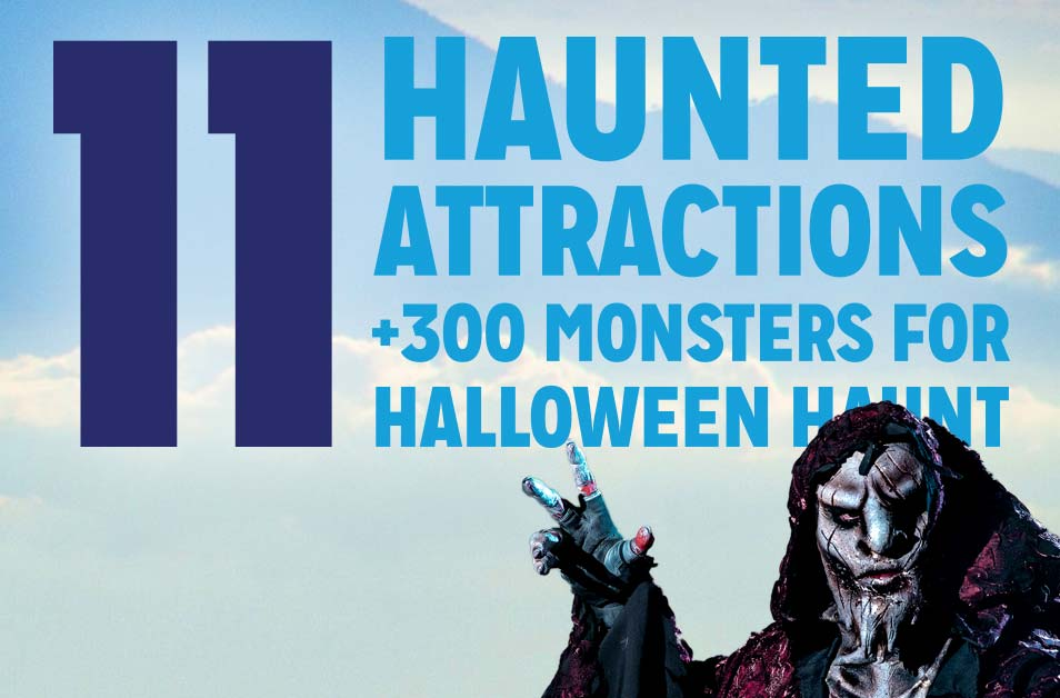 Haunt Attractions at Dorney Park