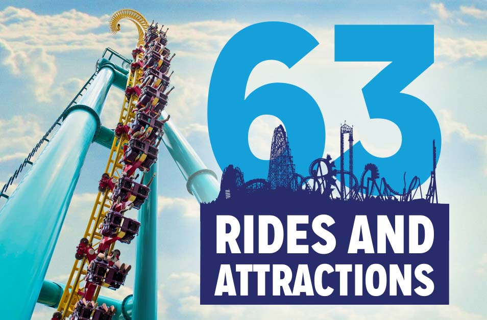 Rides and Attractions at Dorney Park