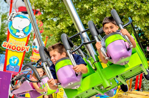 Family and Kids' Rides at Dorney Park