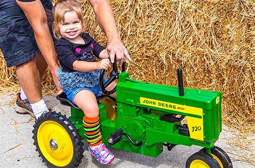Daisy Hill Tractor Stomp at Dorney Park's Halloween Event