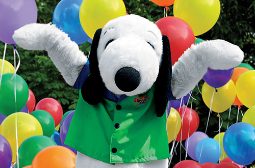 Snoopy's Birthday Party