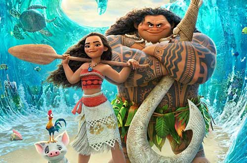 Moana Movie at Dorney Park