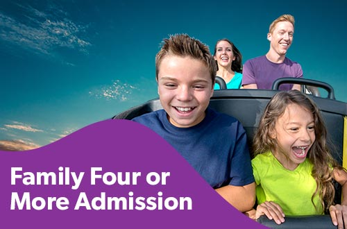 Family Four or More Admission