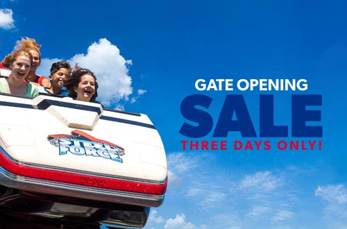 Gate Opening Sale