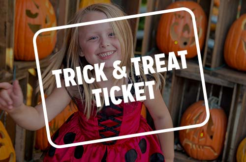 Trick & Treat Sunday Ticket