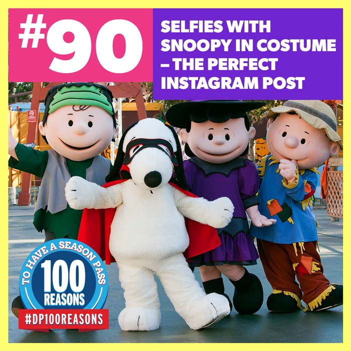 Selfies with Snoopy in costume - the perfect Instagram post.
