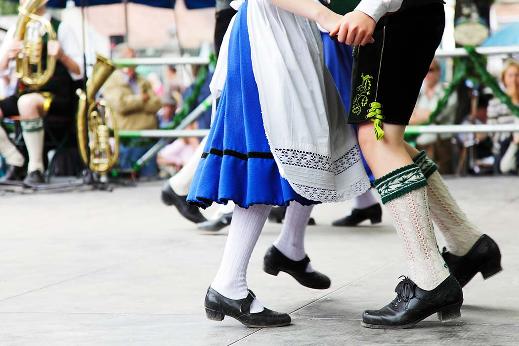 Dancing at Dorney Park's Cultural Celebration