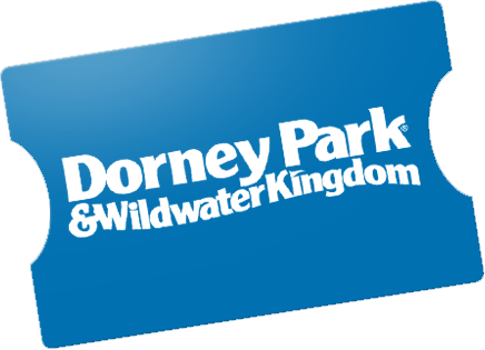Visit two great parks for the price of one at Dorney Park and Wildwater Kingdom. Plan your day to enjoy the roller coasters, thrill rides, family rides, live entertainment, dining, shopping, and, of course, a whole lot of water fun at Wildwater Kingdom.