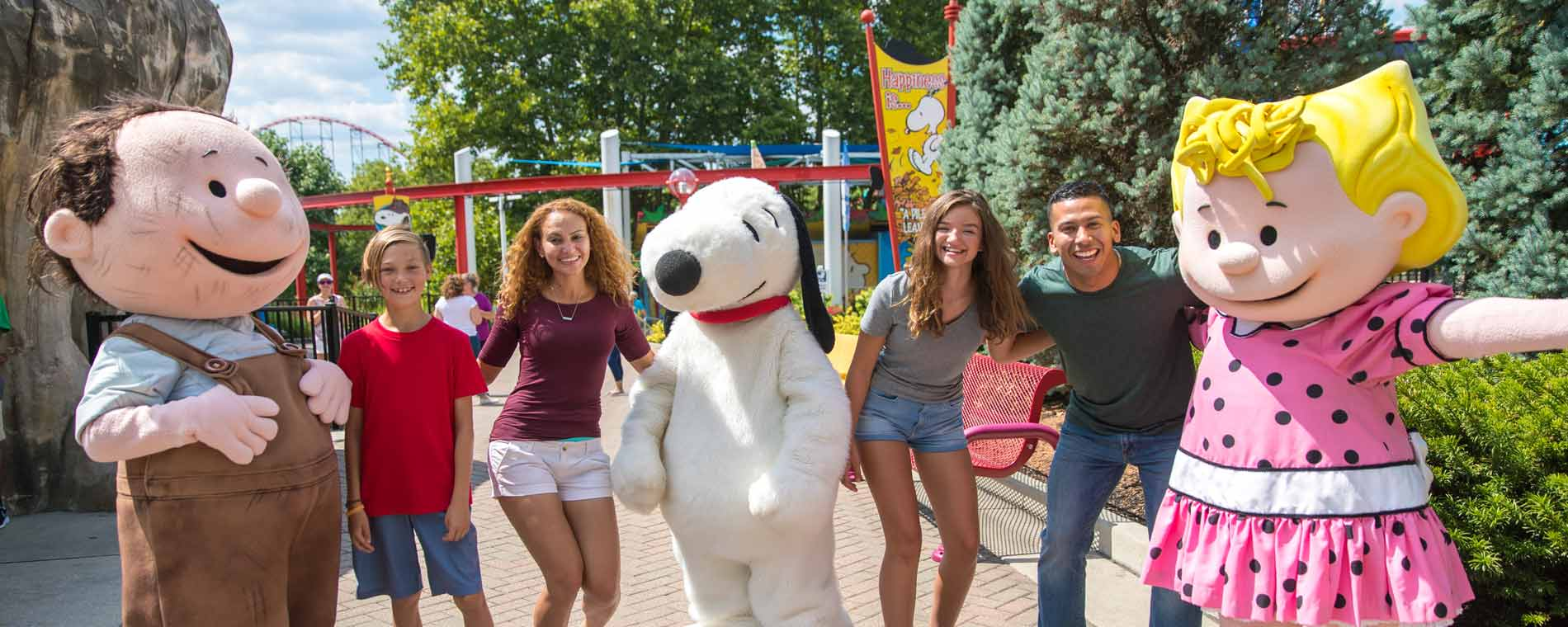 Season Pass Character Breakfasts at Dorney Park