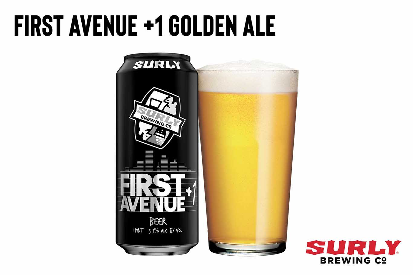 First Avenue +1 Golden Ale