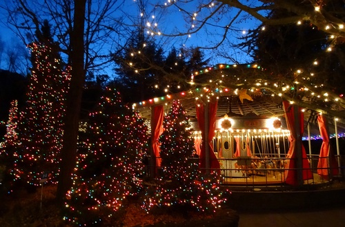 Image result for Gilroy Gardens Holiday Lights
