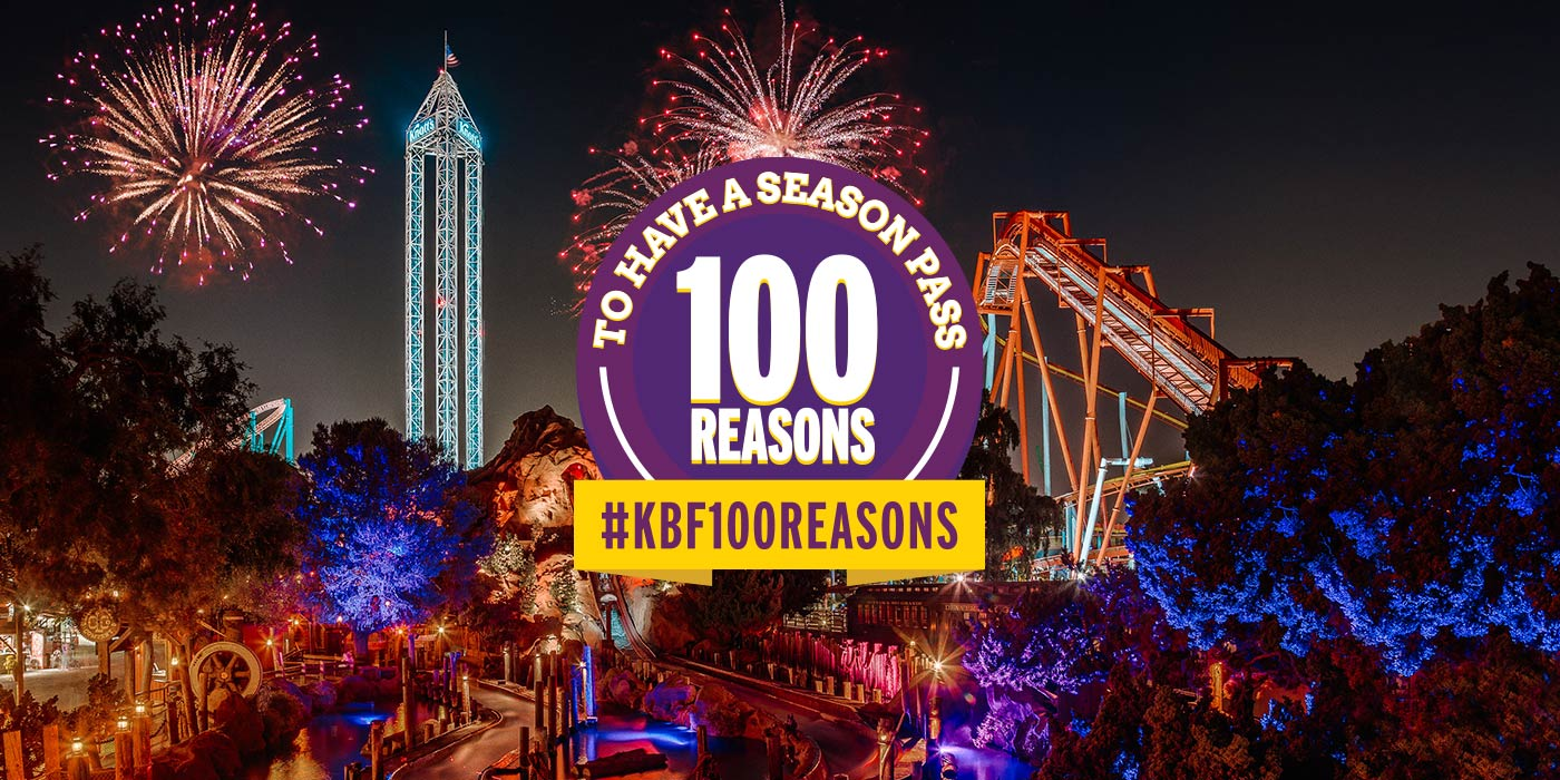 100 Reasons to Have a Season Pass to Knott's Berry Farm